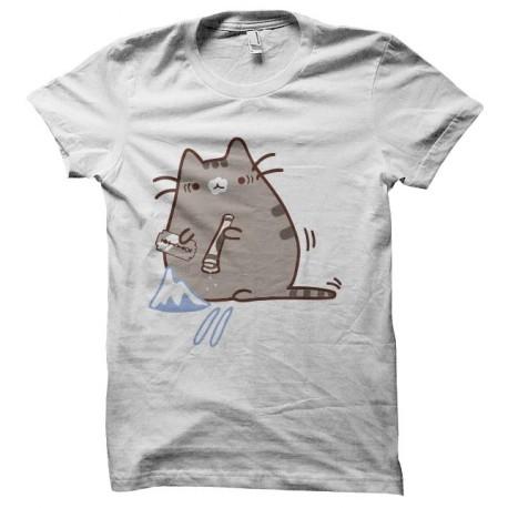 tee shirt chat cocainomane