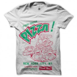 tee shirt TMNT pizza new york