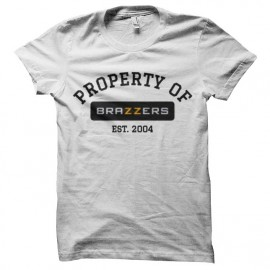 tee shirt property of brazzers