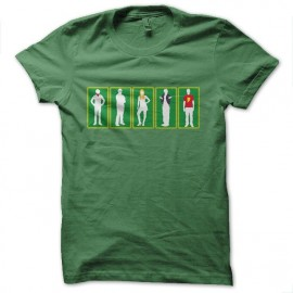 tee shirt big bang theory silhouettes