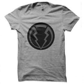 tee shirt Marvel Inhumans Black Bolt Symbole