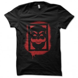 tee shirt mr robot dark army grafiti