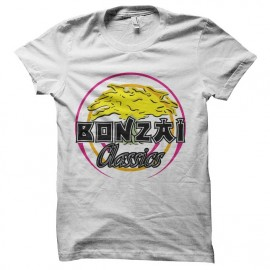 tee shirt bonzai records vintage label
