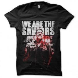 tee shirt walking dead saviors negan poster