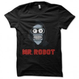 tee shirt mr robot est bender