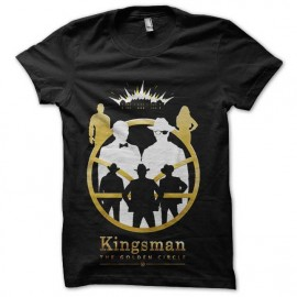 tee shirt kingsman le cercle d or
