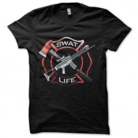 tee shirt swat life police team