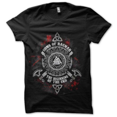 tee shirt ragnar vikings