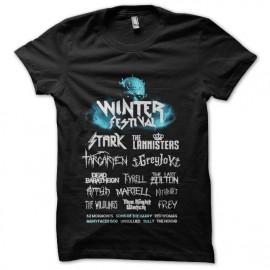 tee shirt game of thrones winter festival