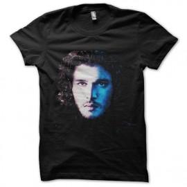tee shirt de john snow portrait