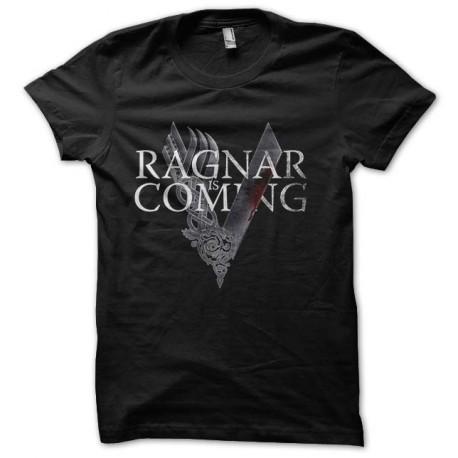 tee shirt ragnar is coming vikings