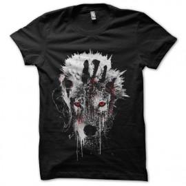 tee shirt totem loup