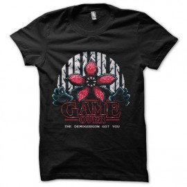 tee shirt Stranger Things demogorgon