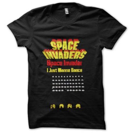 tee shirt space invaders vintage