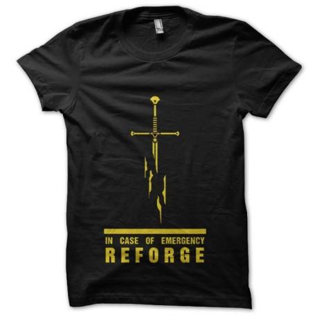 tee shirt reforge le glaive mmorpg