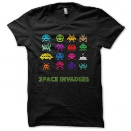 tee shirt space invaders original