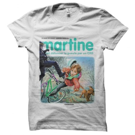 tee shirt martine crs revolution