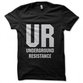tee shirt underground resistance noir