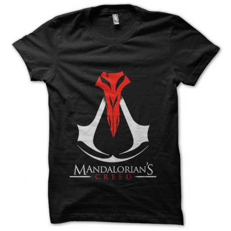 tee shirt mandalorian creed