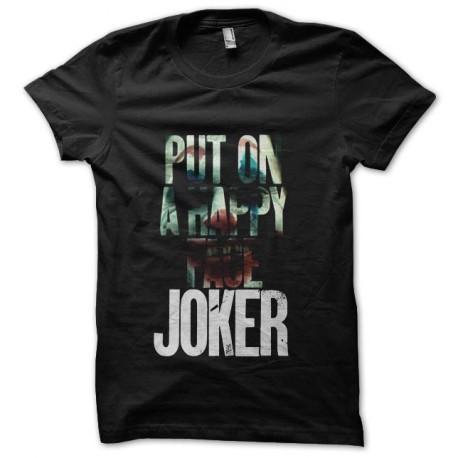 tee shirt le joker 2019 noir