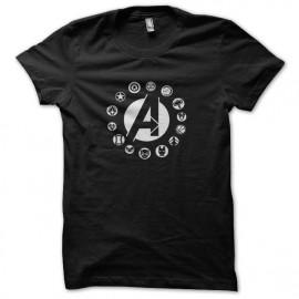 tee shirt la roue des avengers