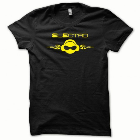 Shirt Electro yellow / black