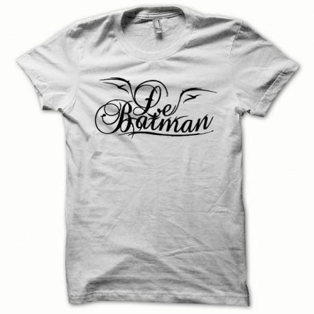 Tee shirt Le Batman noir/blanc