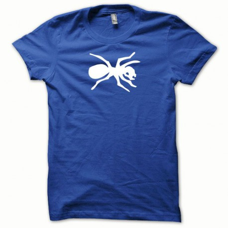 Tee shirt Prodigy blanc/bleu royal
