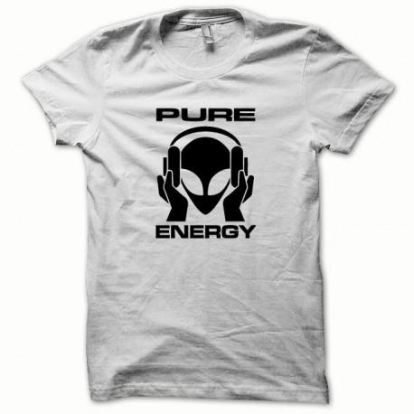 Tee shirt Pure Energy blanc/noir