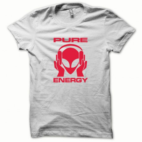 Tee shirt Pure Energy blanc/rouge