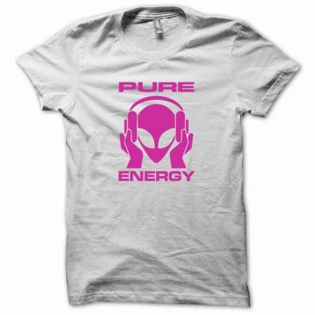 Tee shirt Pure Energy blanc/rose