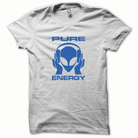 Tee shirt Pure Energy bleu/blanc