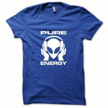 Tee shirt Pure Energy blanc/bleu royal