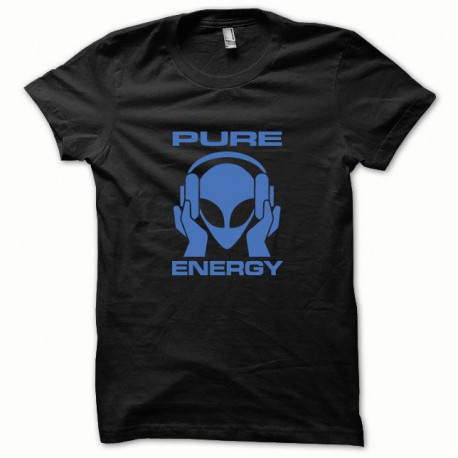 Tee shirt Pure Energy bleu/noir
