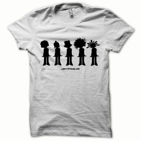 7c9fba5bff78b T-shirt Jamiroquai black/white