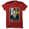 Camiseta de Ibrahimovic rojo