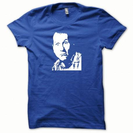 Tee shirt Al Bundy Ed O'Neill blanc/bleu royal