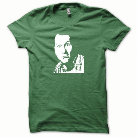 Tee shirt Al Bundy Ed O'Neill blanc/vert bouteille
