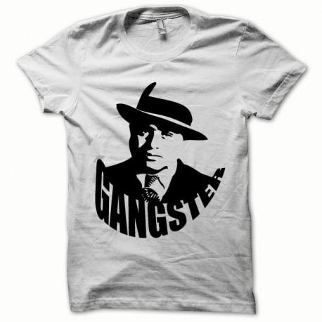 Tee shirt Gangster noir/blanc