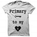 Camiseta maceta primero en mi corazón
