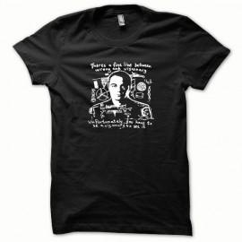 Tee shirt Sheldon Cooper le phylosophe blanc/noir
