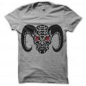 tee shirt tribal demon gris