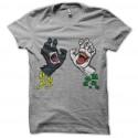 batman vs joker grey t-shirt