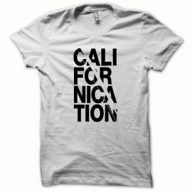 Tee shirt Californication classic version noir/blanc