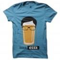 cerveza de camiseta geek