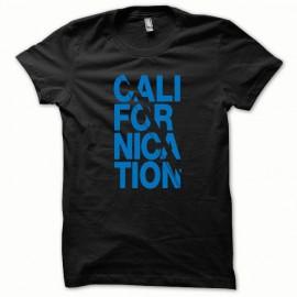 Tee shirt Californication version normal bleu/noir