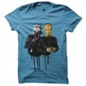 camiseta star wars daft punk c3po