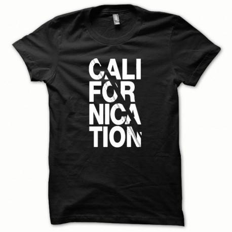 Tee shirt Californication blanc/noir