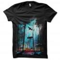 tiburones del bosque t-shirt