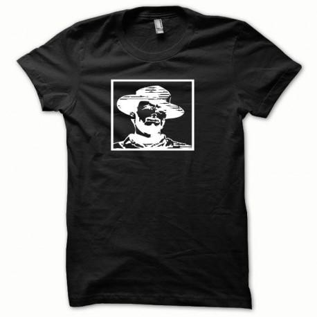 Tee shirt Clint Eastwood blanc/noir